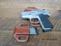 SMITH & WESSON MODEL CS45 (CHEIF'S SPECIAL) 45ACP AS NEW ORIGINAL CONDITION WITH GALCO FITTED LEATHER.