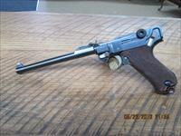 LUGER LP08 1918 DWM ARTILLERY 9MM ,FULL PROFESSIONAL RESTORATION AND ALL MATCHING NUMBERS.
