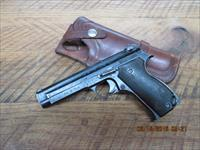 FRENCH MILITARY S.A.C.M. MODEL 1935A WWII PISTOL 7.65MM FRENCH LONG CALIBER. W/HOLSTER