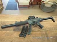 GSG-522 TACTICAL 22 L.R. SEMI-AUTO RIFLE ,3 MAGS,BSA RED-DOT ALL LIKE NEW,NO BOX OR PAPERS