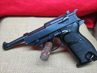 GERMAN NAZI MILITARY WALTHER P-38 9MM SEMI AUTO PISTOL