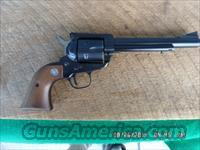 RUGER 1966 BLACKHAWK 357 MAGNUM 3 SCREW PRE-WARNING REVOLVER UN-FIRED 99% CONDITION.