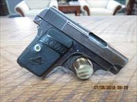 COLT 1908 POCKET HAMMERLESS 25 ACP (MFG. 1910) PISTOL ALL ORIGINAL.