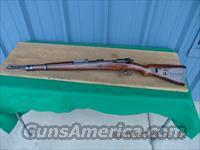 MAUSER GERMAN M98 NAZI MARKED 8MM RIFLE (BYF 44 CODE).VERY GOOD OVERALL.
