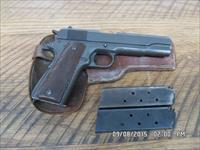 REMINGTON RAND MODEL 1911A1 U.S.ARMY PISTOL,ALL CORRECT PARTS AND ORIGINAL FINISH ,MADE 1944 S/N 15433XX. 95% OVERALL.