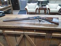 LIEGEOISE D'ARMES  MARTINI 45-70 GOV'T SINGLE SHOT FULL LENGHT STOCK HUNTING RIFLE, AS NEW CONDITION.