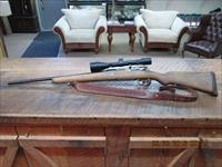 MAUSER CUSTOM SPORTER 270 WIN. CAL. BOLT HUNTING RIFLE W/SCOPE FINE SHAPE