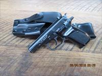 CZ 82 SEMI-AUTO 9 X18 MAKAROV DOUBLE ACTION PISTOL WITH POLICE HOLSTER ALL IN 90% ORIGINAL CONDITION.
