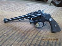 SMITH & WESSON 1 ST MODEL K-22 OUTDOORSMAN 22 L.R. 5-SCREW REVOLVER 90% PLUS ORIGINAL CONDITION.