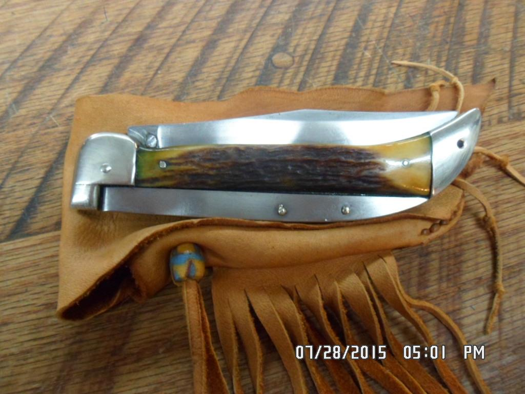 Ka Bar Quot Grizzly Quot Union Cutlery Co Folding Srag For Sale