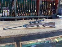 GERMAN BEEMAN MODEL HW 30 KAL. 4.5 MM (.177) SINGLE PUMP AIR RIFLE,SCOPED,EXCELLENT CONDITION.