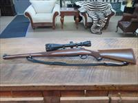 RUGER M77 RSI 243 WIN. CAL. ,AETEC 3.8-12X44 SCOPE ALL LIKE NEW CONDITION.