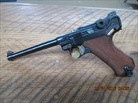 LUGER NAVY 1917 DWM 9MM LUGER CALIBER,ALL ORIGINAL NUMBERS AND 96% PLUS ORIGINAL BLUE AND 70% STRAW PARTS.