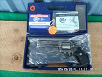 "COLT ANACONDA 44 MAGNUM STAINLESS 6"" REVOLVER NEW IN ORIG.BOX WITH ALL PAPERWORK AND HANG TAG."