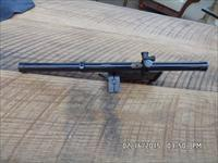 "MOSSBERG VINTAGE ACHROMATIC 4 POWER 22 SCOPE IN ""RARE""WARDS ADJUSTIBLE MODEL 10 MOUNT,GREAT SHAPE!"