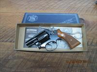 "SMITH & WESSON MODEL 10-5 (MFG.1967) 38 SPL. 2"" SNUB NOSE REVOLVER 98% PLUS W/ BOX AND PAPERS."