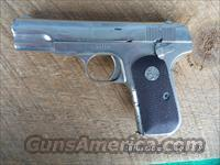 COLT MODEL 1903 32ACP PISTOL ,RENICKELED,MAKE GREAT SHOOTER.