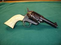 COLT 1919 SINGLE ACTION ARMY  POSSIBLE SERIFF'S MODEL 44-40 WCF A.A.WHITE ENGRAVED 99% PLUS