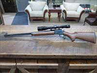 MARLIN MODEL 39 AS (MFG. 1990) JM MARKED 22 S.L.L.R. LEVER TAKEDOWN RIFLE 99.5% PLUS ORIGINAL CONDITION / SCOPED.