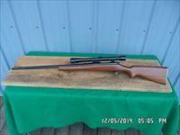 "REMINGTON MODEL 722 ""RARE"" .244 CALIBER (6MM) SPORTING RIFLE ,PERIOD WEAVER K10 ALL 99% ORIGINAL CONDITION."