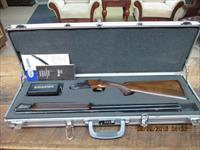 "SIG ARMS ""LL BEAN"" NEW ENGLANDER"" BY RIZZINI 20GA. O/U SHOTGUN ALL 99% PLUS AS NEW IN FACTORY ALUMINUM HARD CASE!"