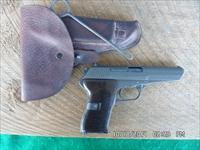 CZ-MDL. 52 PISTOL 7.62X25 TOKAREV CALIBER,MATCHING NUMBERS,ORIGINAL/PERFECT SOFT LEATHER HOLSTER WITH CLEANING JAG.BUILT 1954 ALL 99% ORIGINAL CONDITION.