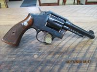 SMITH & WESSON M&P PRE-MODEL 10 (MFG.1951) 5 SCREW 38 SPL. REVOLVER,APPERS UNFIRED 99%  ORIG.OVERALL