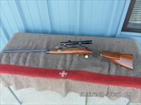 MAUSER 1871 HALF STOCKED SINGLE SHOT TARGET SPORTER 8.15X46R MM SCOPED AND RARE.
