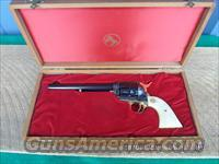 COLT 1964 MONTANA TERRITORY CENTENNIAL 2ND GENERATION SAA 45 L.C. REVOLVER,UNFIRED AND CASED!