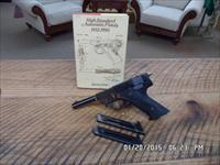HI-STANDARD 1950 MODEL G-380 PISTOL 380 ACP,100% MINT AND UNFIRED ORIG.CONDITION.3 FACTORY MAGAZINES.