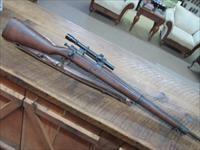 REMINGTON 03A4 SNIPER CIRCA 1943-7 ALL ORIGINAL WITH SCOPE