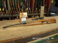 WEATHERBY EARLY PRE-MARK V FN ACTION 375 WEATHERBY MAGNUM CAL.(RARE) RIFLE. 99% PLUS ORIGINAL CONDITION WITH AMMO.