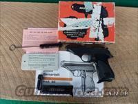 V.BERNARDELLI MODEL 60 380ACP SEMI-AUTO PISTOL 99% ORIG.CONDITION IN ORIG .BOX ,PAPERS CLEANING TOOLS.2 MAGS.