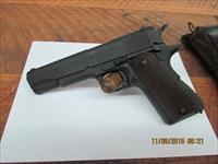 COLT 1911A1 MFG.1942 45ACP S/N 8199XX, 97% ORIG.FACTORY PARKERISING,HARD TO FIND BOXED WB INSPECTOR MARK.