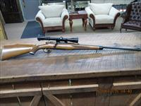 STEYR MANNILCHER-SCHOENAUER HALF STOCK MODEL 1952 270WIN. CAL BOLT RIFLE W/REDFIELD ALL 98% PLUS