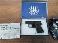 BERETTA 950 B IN 25 JETFIRE SEMI AUTO COMPACT ALL ORIGINAL