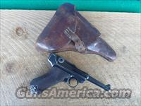 GERMAN WW II LUGER 1940 CODE 42 PISTOL 9MM CAL.ALL MATCHING NUMBERS INCLUDING MAGAZINE,BUY W OR WO HOLSTER.96% ORIGINAL CONDITION.