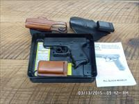 GLOCK MODEL 27 PISTOL 40 S&W CAL. USED AS NEW 99%