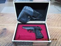 "WALTHER PPK ""NAZI"" POLICE ISSUE EAGLE/C FRAME, EAGLE ""N"" SLIDE PRICED TO SELL"