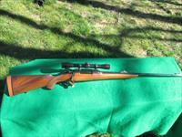 MAUSER CUSTOM POST WAR SPORTER 300 H& H  LEUPOLD SCOPE