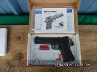 SPRINGFIELS ARMORY 1911-A1 90'S EDITION 45 ACP PISTOL WITH ORIG.BOX AND PAPERS.99%