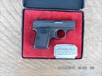 BROWNING BABY 25 ACP (6MMX35) BELGIUM MADE IN 1966 WITH ORIGINAL BOX 98% COND.