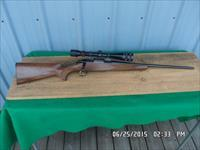BROWNING A-BOLT 22-250 REM. BOLT ACTION RIFLE 99% OVERALL AND REDFIELD SCOPED.