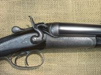 DOUBLE RIFLE R.B. RODDA 475 41/4 NITRO TOP LEVER ENGRAVED