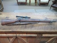 REMINGTON 03A4 SNIPER CIRCA 1943  WWII WITH SCOPE