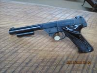HIGH-STANDARD 1ST MODEL (MFG. 1953) 22 L.R. TARGET PISTOL 93% IN ORIG.OVERALL CONDITION.