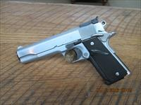 COLT CUSTOM 70 SERIES 45 ACP GOVERNMENT MODEL HARD CHROME FINISH.