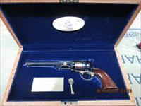 U.S. HISTORICAL SOCIETY NAVY COLT 1851 36 CALIBER,1 OF 1000 EDITION. NIB!