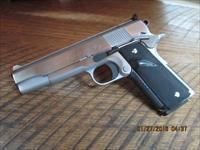 "COLT POST-WAR ""ACE"" SERVICE MODEL 22 L.R. CUSTOM HARD CHROME FINISH W / MORE CUSTOM FEATURES.99% PLUS COND.NO BOX OR PAPERS."