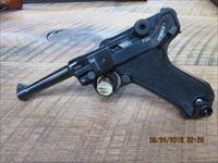MAUSER / LUGER P08 BYF BLACK WIDOW 9MM PISTOL ALL MATCHING NUMBERS 99% REBLUED.